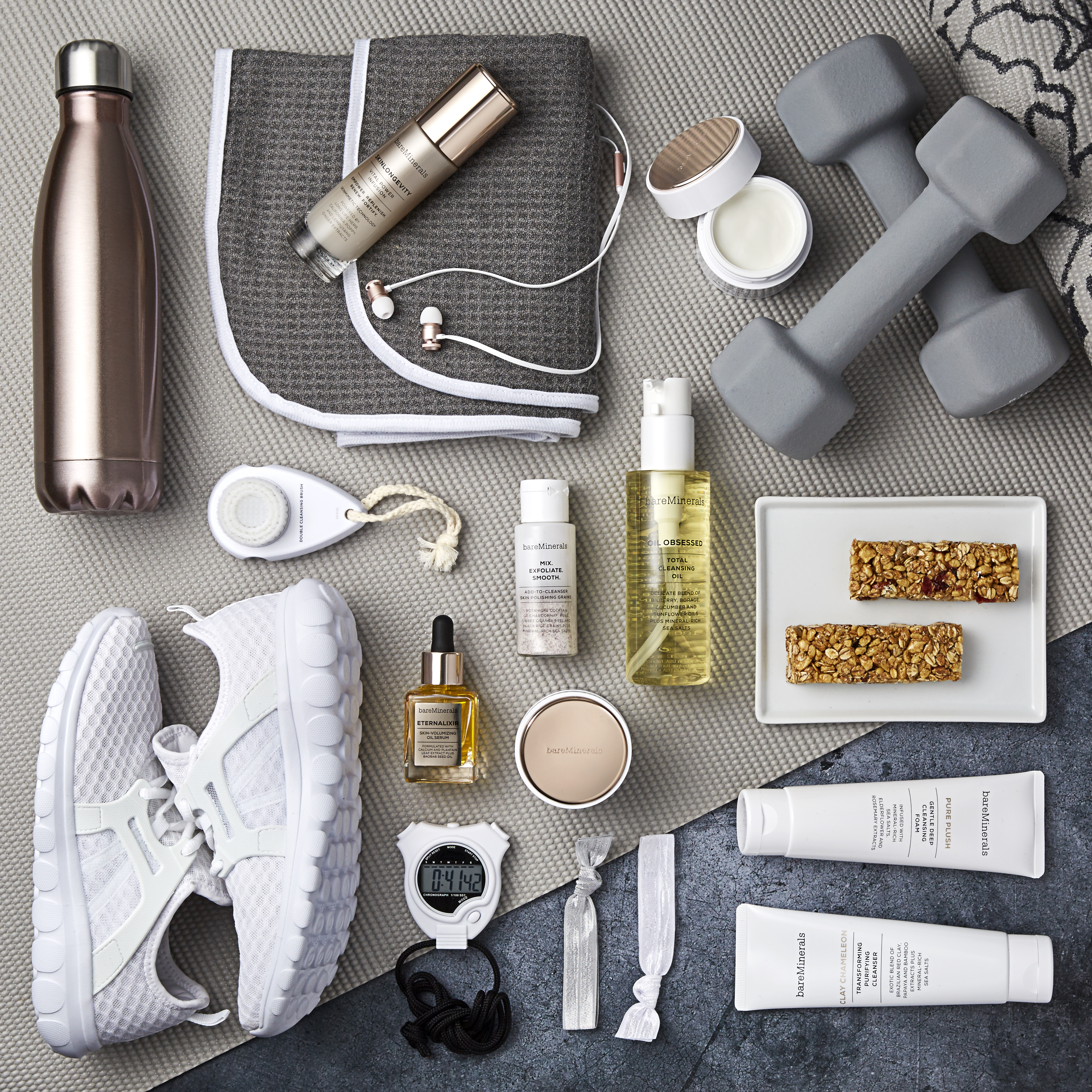 Workout makeup by bareMinerals