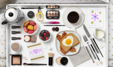 Make it a beautiful Mother's Day with bareMinerals makeovers (and breakfast in bed)!