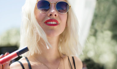 bareMinerals Statement Lip, as seen at Coachella