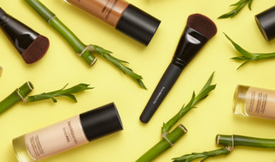 Bamboo extract, a key ingredient in BAREPRO Liquid Foundation