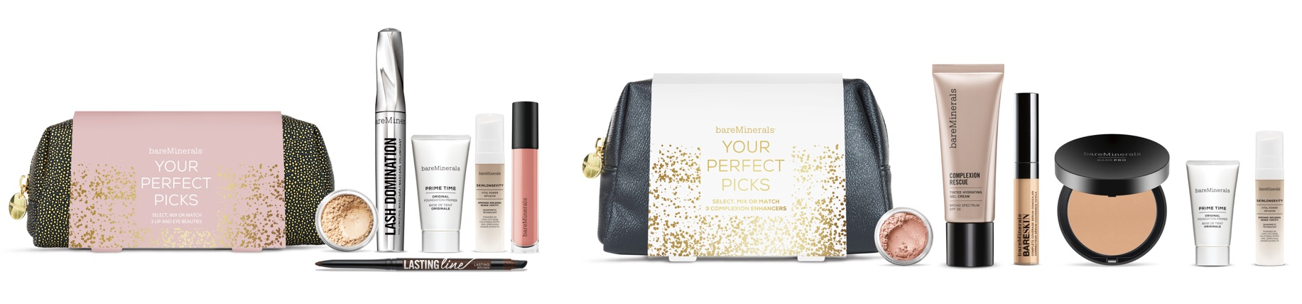 Customizable makeup kits from bareMinerals