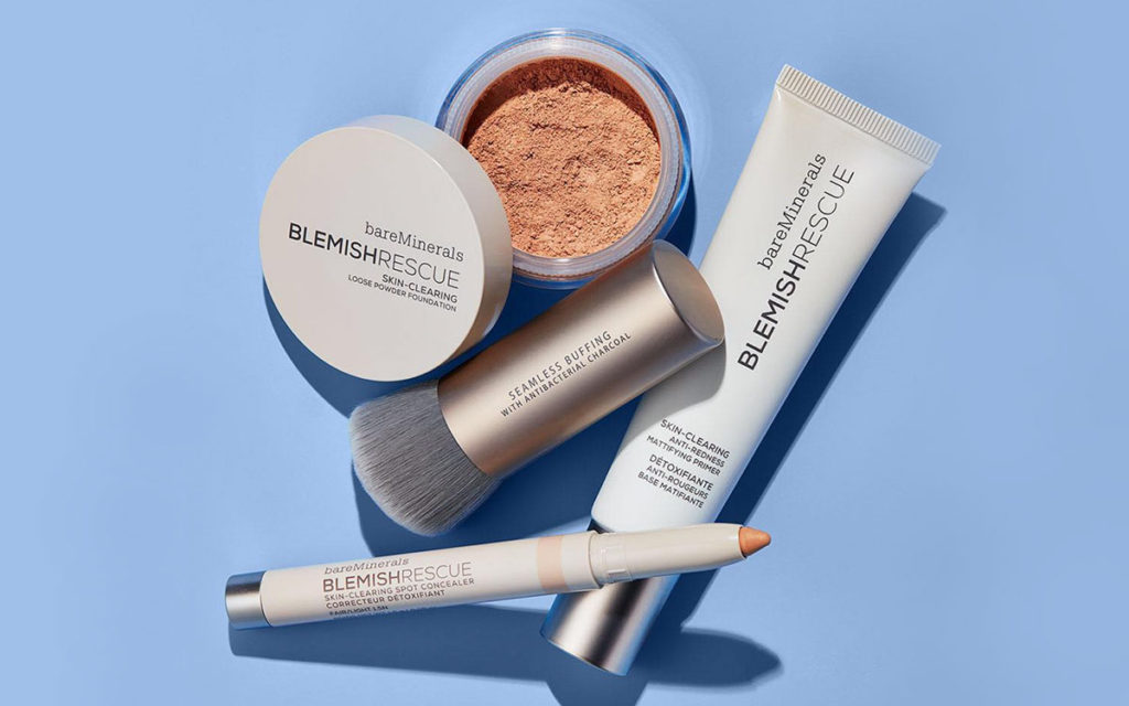 bareminerals blemish rescue acne makeup collection