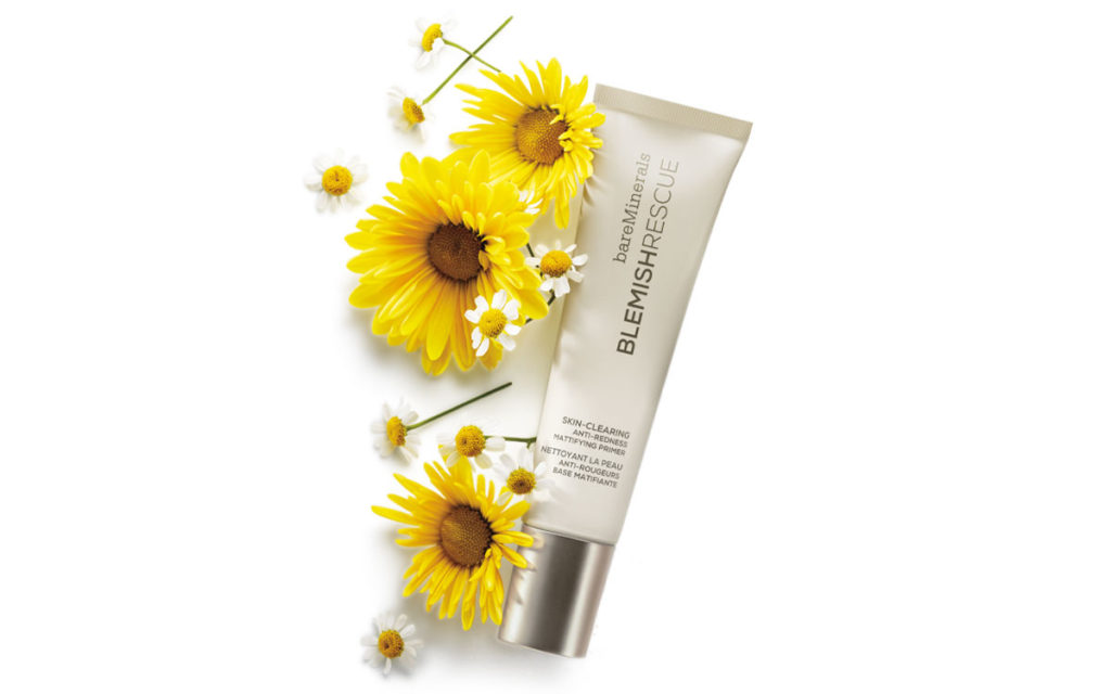 bareMinerals Blemish Rescue Primer with flowers