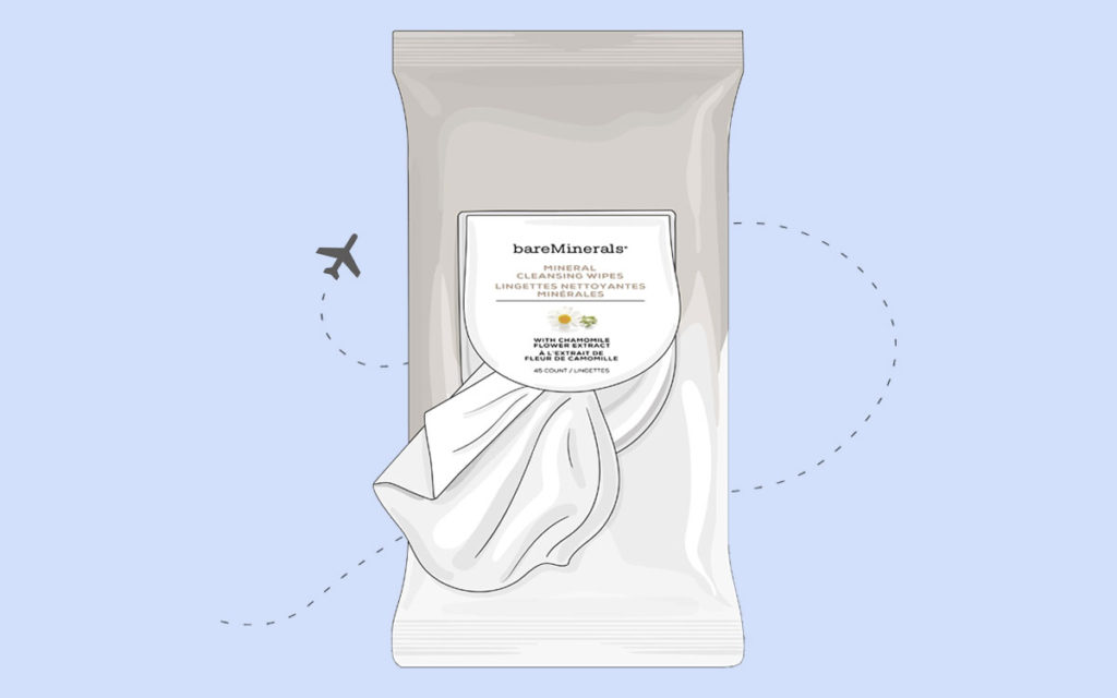 bareMinerals Mineral Cleansing Wipes illustration