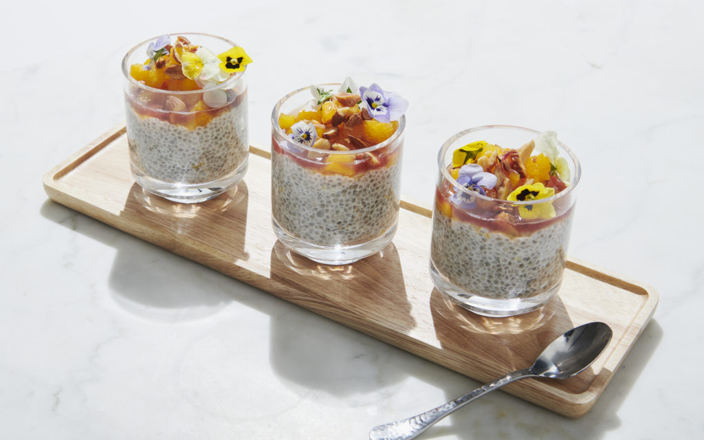 Breakfast in a Pinch: Almond & Orange Zest Chia Seed Pudding