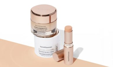 bareMinerals skincare products for fall and winter