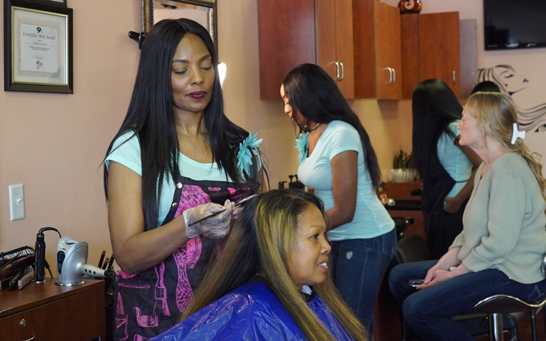 Women We Love: Vanessa Howard of Giving Hands Salon