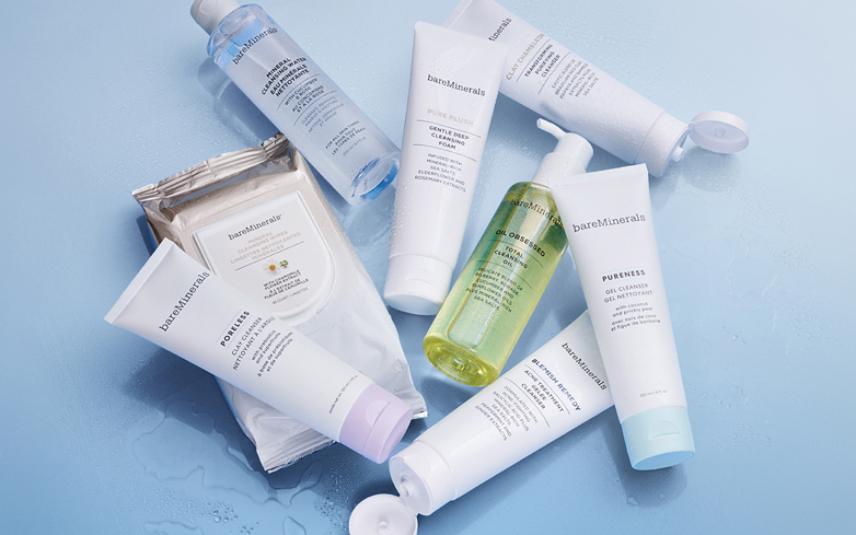 Get a Clean Start with the bareMinerals Cleanser Collection