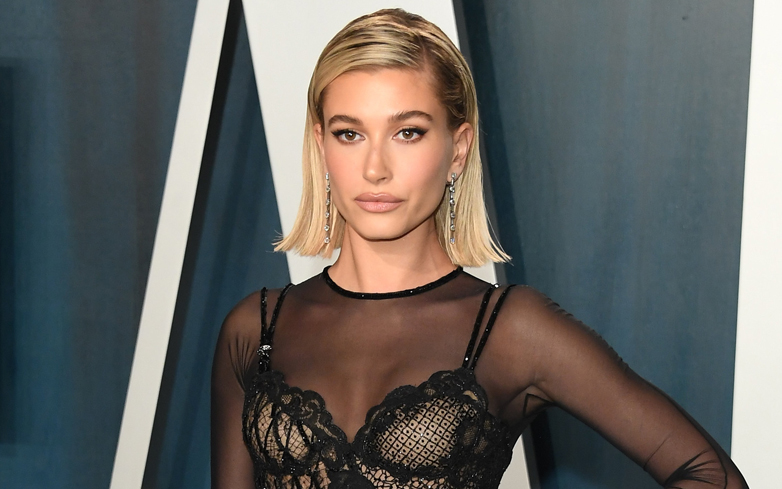 Get Hailey Bieber's Flawless Awards Show After Party Look