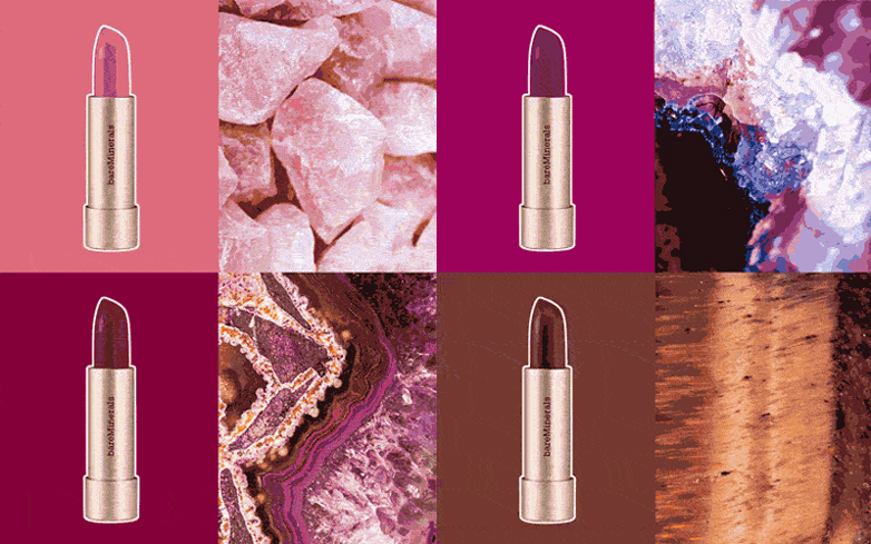 How Crystals Inspired 25 Shades of MINERALIST Lipstick