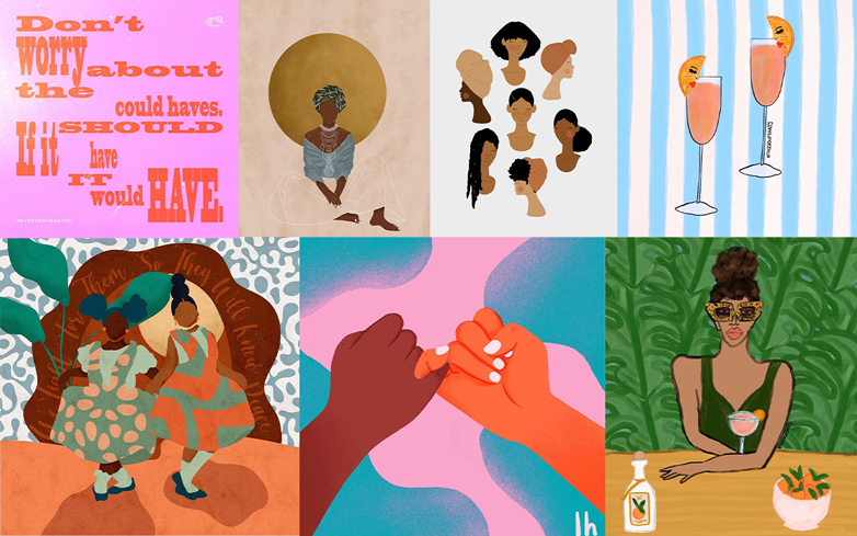 6 Black Female Artists Changing the Instagram Game
