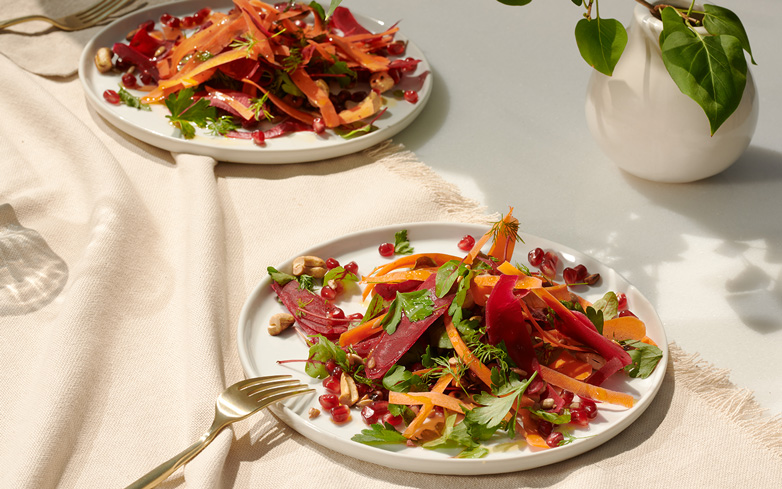 This Colorful Pomegranate Salad Is Perfect for Your Holiday Table