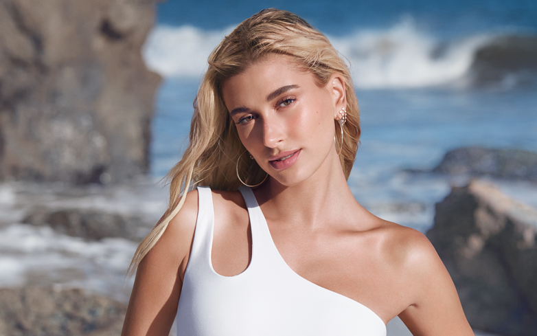 Here's How to Get Hailey's Naturally Luminous Campaign Look