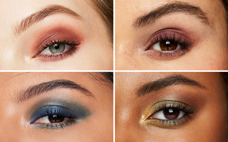 One Palette, 4 Looks: A Little Inspiration for Bold, Festive Makeup