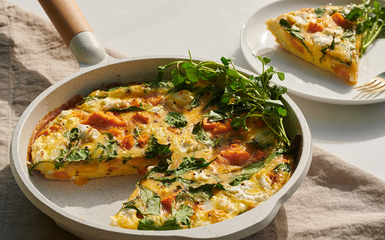 This Quick & Easy Frittata Makes for a Beautiful at-Home Brunch